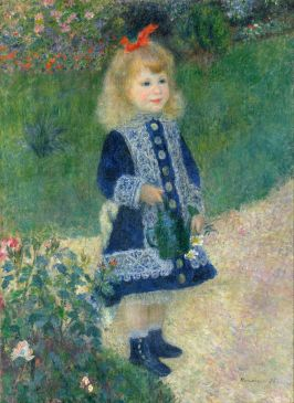 Renoir, A Girl with a Watering Can